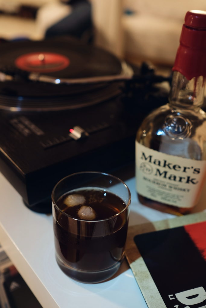 Bourbon Iced Tea and Vinyl