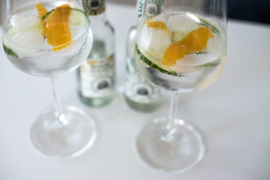 Hortus Original London Dry Gin Summer Edition als Gin Tonic