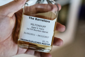 Read more about the article The Barreliers Miltonduff 6 Jahre