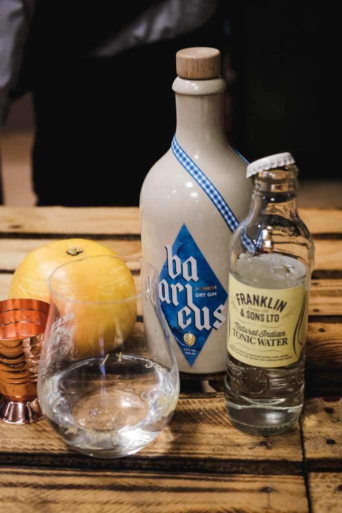 Bavaricus Gin & Tonic mit Franklin & Sons Indian Tonic Water, Bavaricus Gin Tonic, Bavaricus Munich Dry Gin Tonic