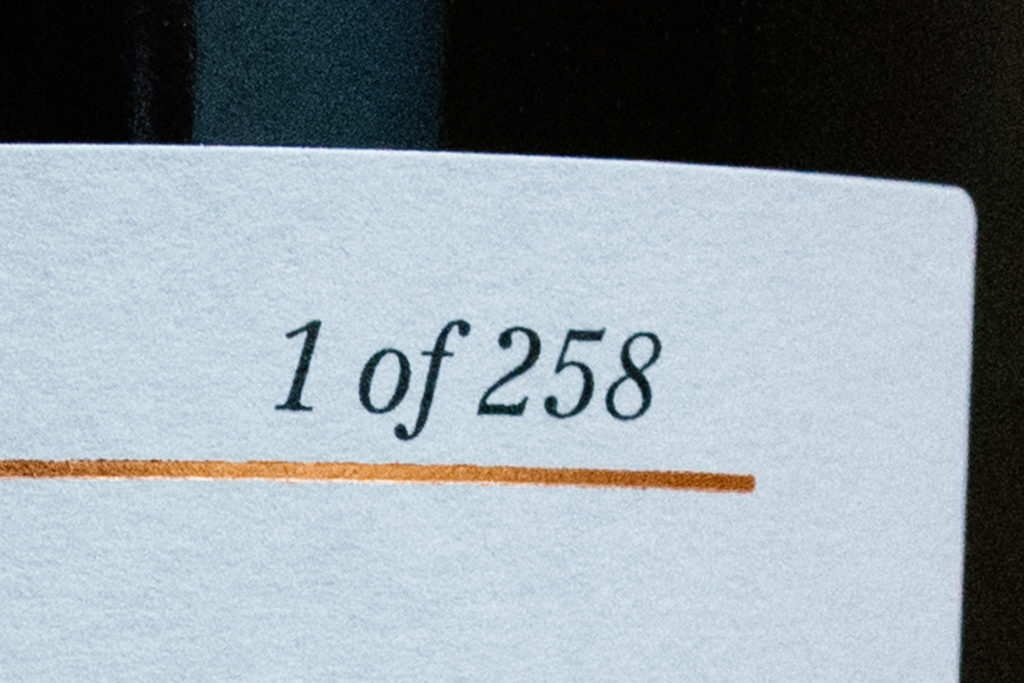 SMWS Codes Number of Bottles