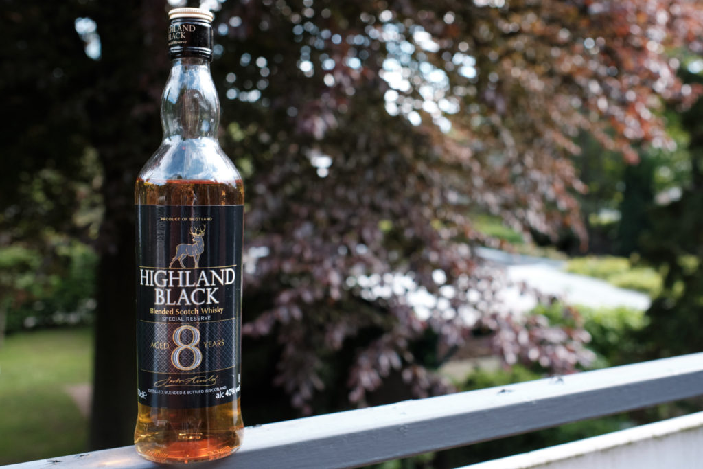 Highland Black 8 years Blended Scotch Whisky Aldi