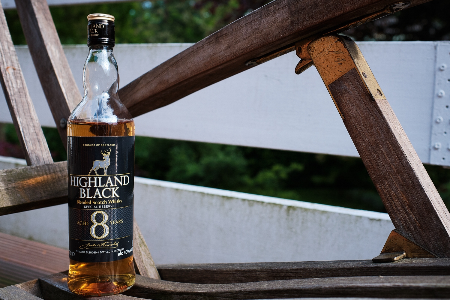 You are currently viewing Highland Black Blended Scotch Whisky 8 years old   Aldi Süd