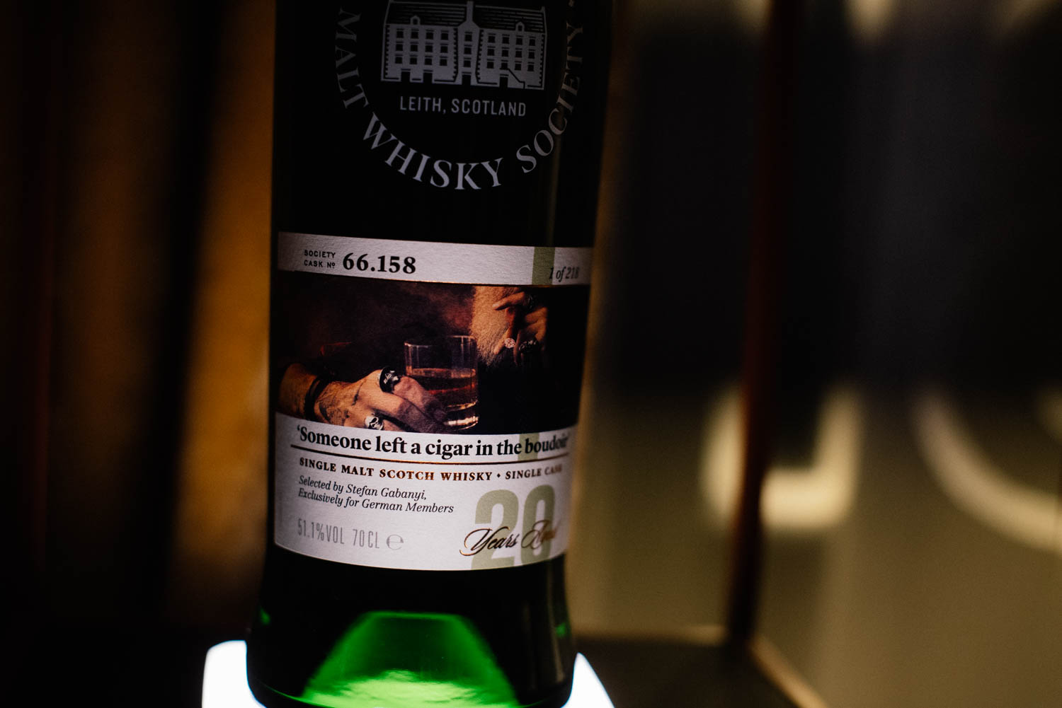 Someone left a cigar in the boudoir | SMWS Edition by Stefan Gabányi