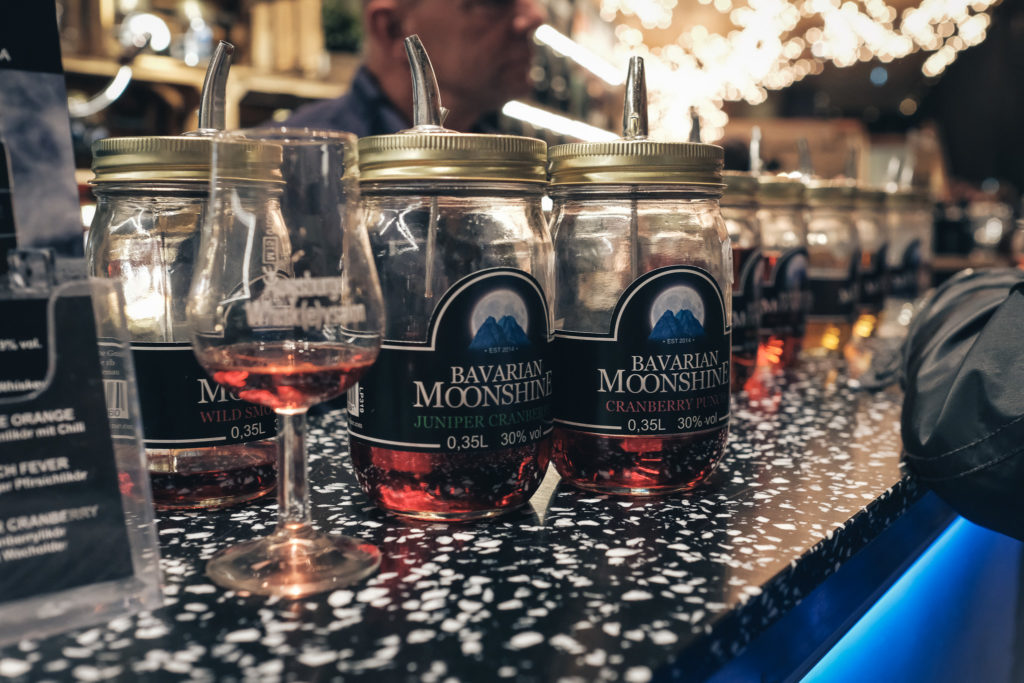 Bavarian Moonshine auf dem Whiskysalon