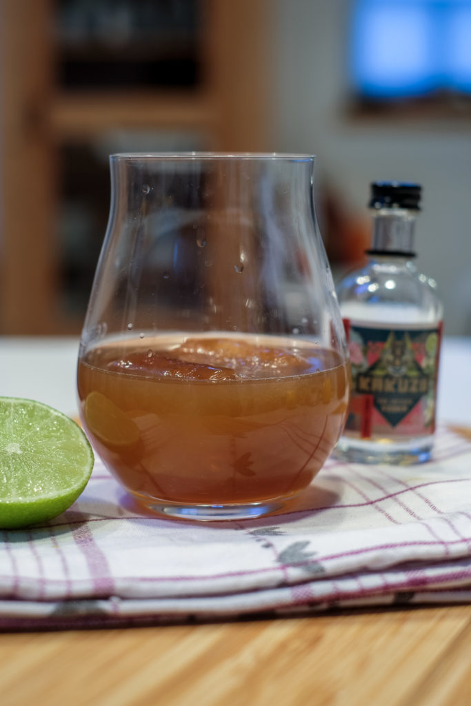 Kakuzo Tea Infused Vodka Sour