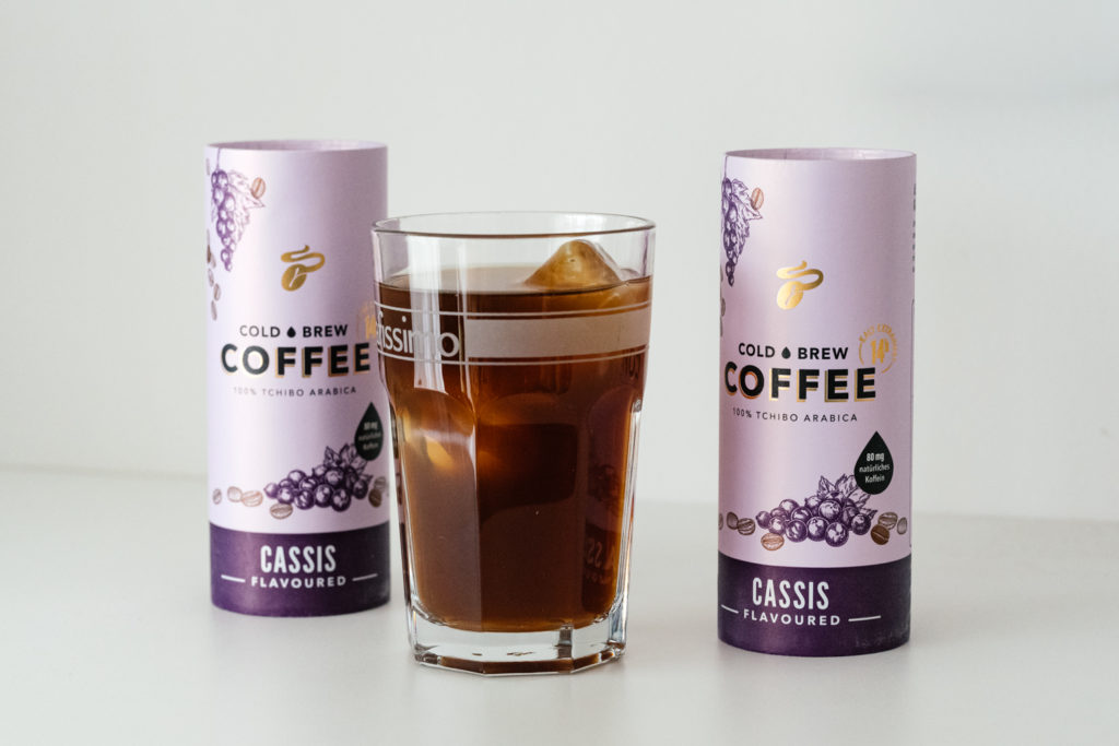 Tchibo Cold Brew Coffee Cassis
