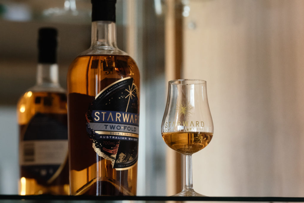 Starward Two Fold Whisky, Starward Nosing Glas