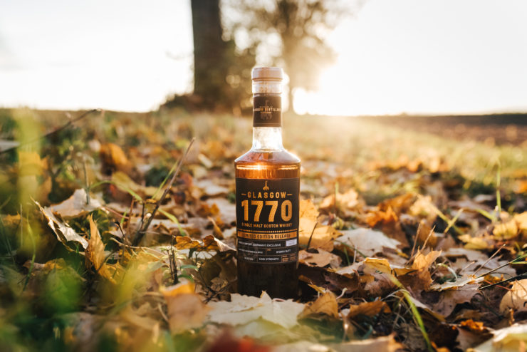 1770 Glasgow Single Cask Whisky, Sherry Butt, Limited Edition, Kirsch Whisky