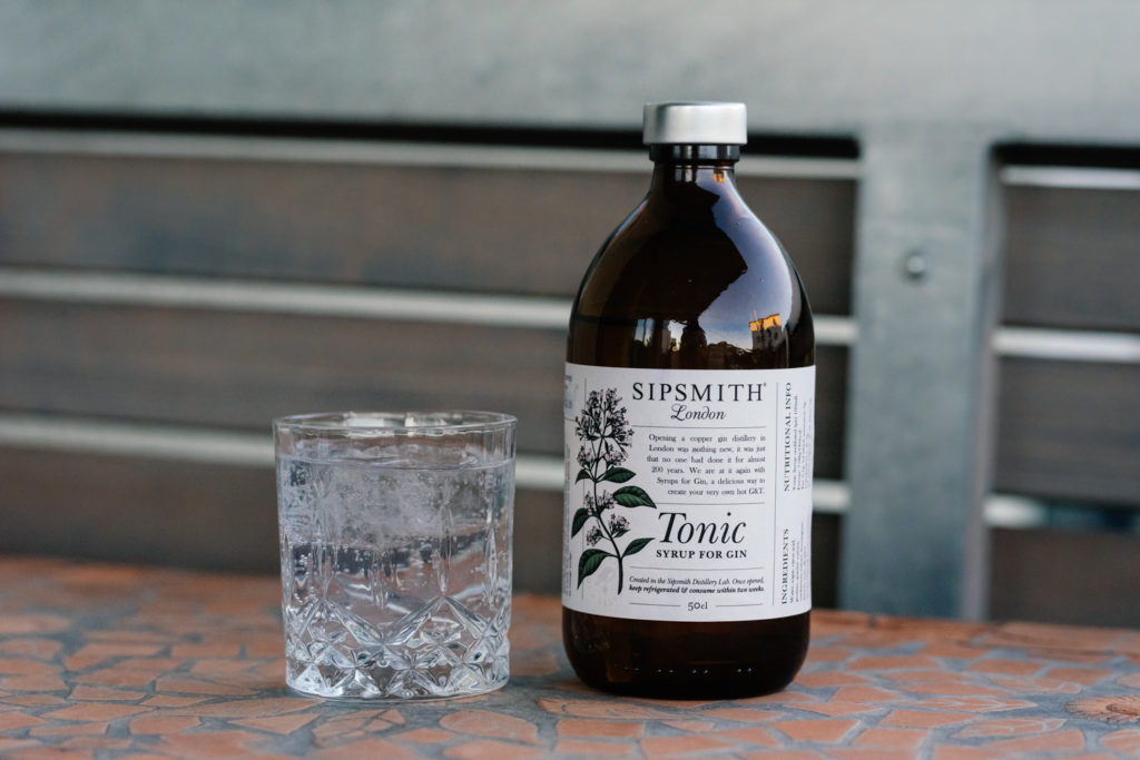 Sipsmith Tonic Syrup for Gin