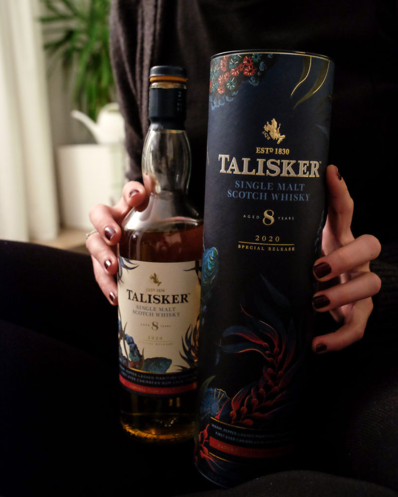 Talisker 8 Special Release 2020 (Flasche & Tube)