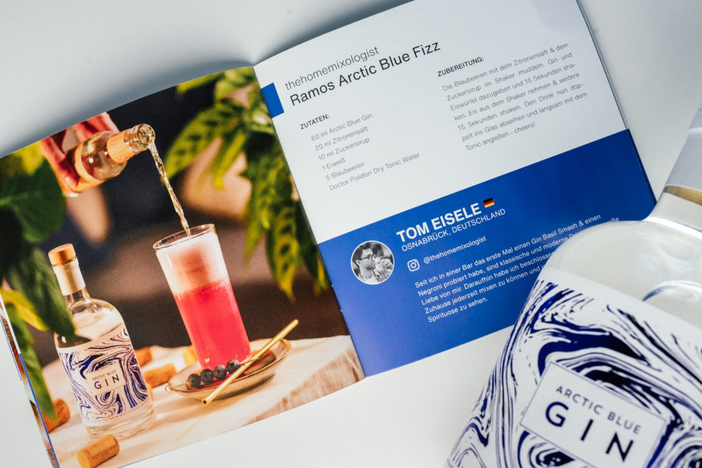 European Craft Club Booklet, Thehomemixologist, The Home Mixologist