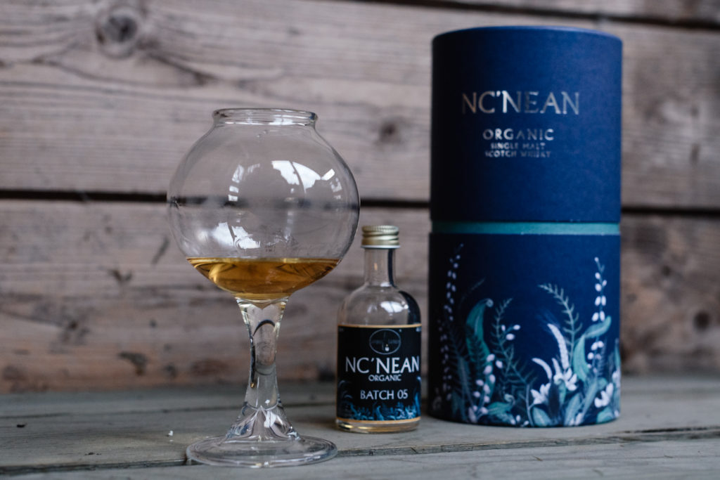 Nc'nean Organic Batch 05 Whisky Test, Simple Sample The Nose Glas, Whisky Blog