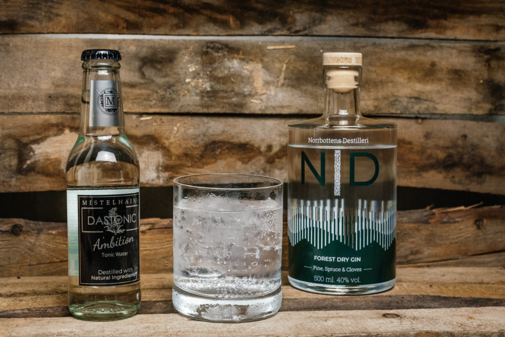 ND Forest Dry Gin Tonic, Gin & Tonic, Mistelhain Ambition Tonic Water
