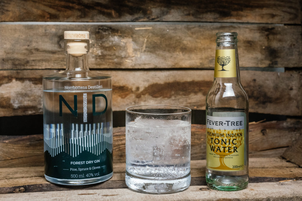 ND Forest Dry Gin Tonic, Gin & Tonic, Fever Tree Indian Tonic Water