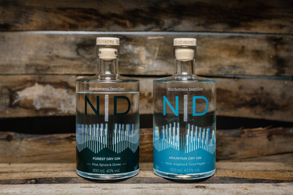 Norrbottens Destilleri Gin, ND Forest Dry Gin, ND Mountain Dry Gin, Ginblog, Gin Blog, Gin Review, Tastingnotes
